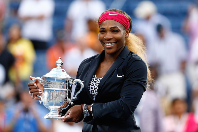 Serena Williams wins the 2014 US Open