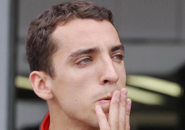 British Indy Car driver Justin Wilson