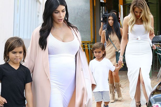 Kim K and Khloe 'fight&#x27 over having Mason's first sleep over