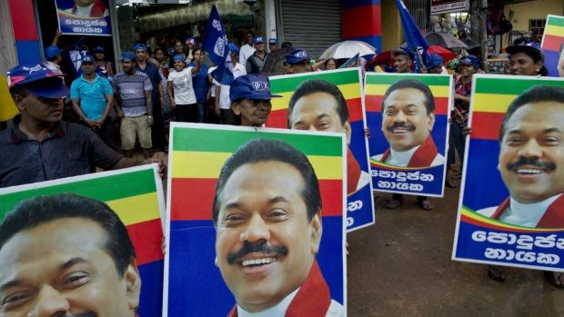 Ex-president seeks comeback in Sri Lanka