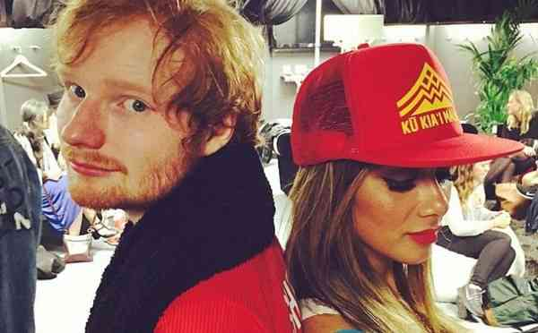 British musician Ed Sheeran and former Pussycat Dolls singer Nicole Scherzigner are reportedly dating
