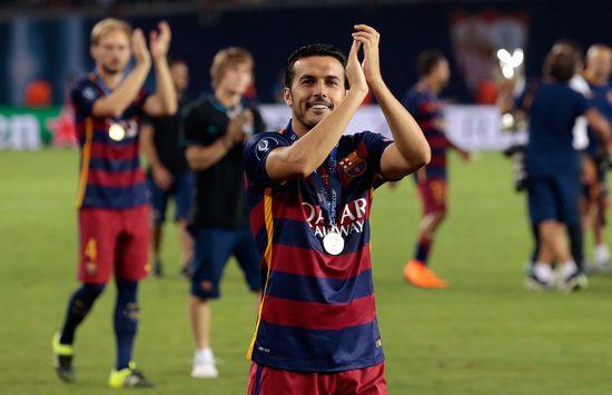 Video: Man United target Pedro scores winner on Barcelona farewell to settle