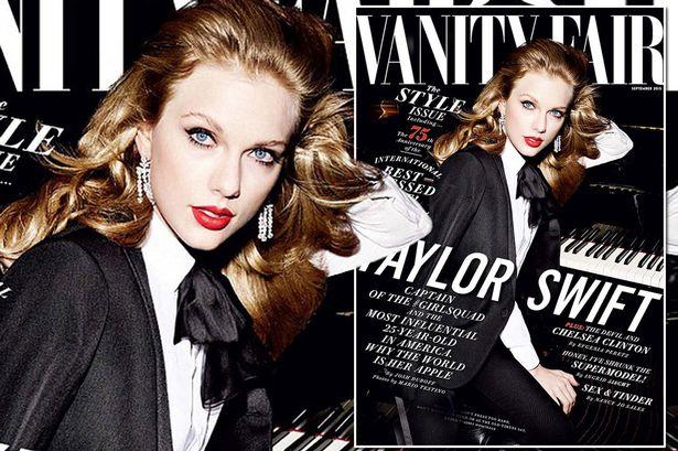 Vanity fair  Taylor Swift looks gorgeous on the cover of Vanity Fair