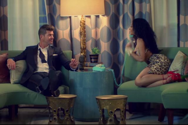 Robin Thicke Talks Nicki Minaj Collaboration, Girlfriend April Love Geary & Jay Z