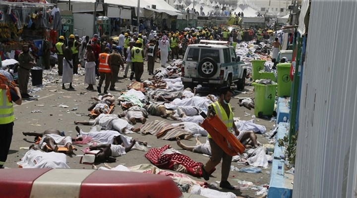 Over 700 Hajj pilgrims die 863 injured in stampede near holy city of Mecca