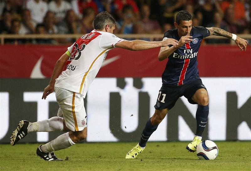 Angel Di Maria has an assist in Ligue 1 already