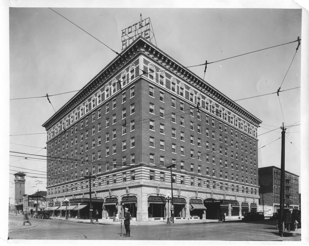 Rowe Hotel 1920