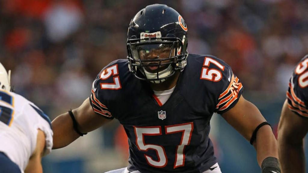 Bears linebacker Jon Bostic