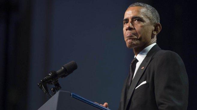 US President Barack Obama addresses the Congressional Black Caucus Foundation's 45th Annual Legislative Conference in Washington DC