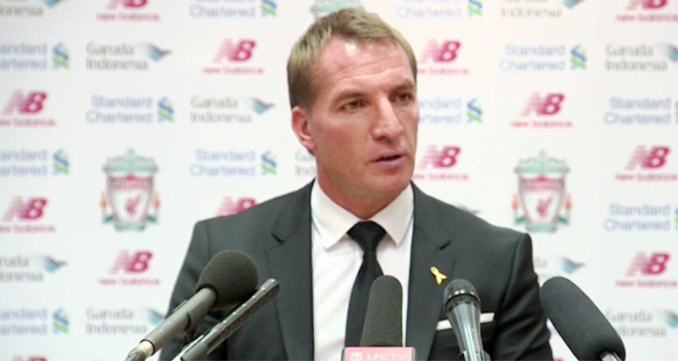 Brendan Rodgers Press Conference