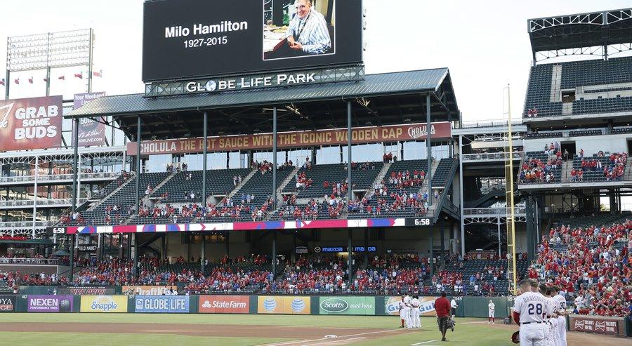Milo Hamilton, 1927-2015