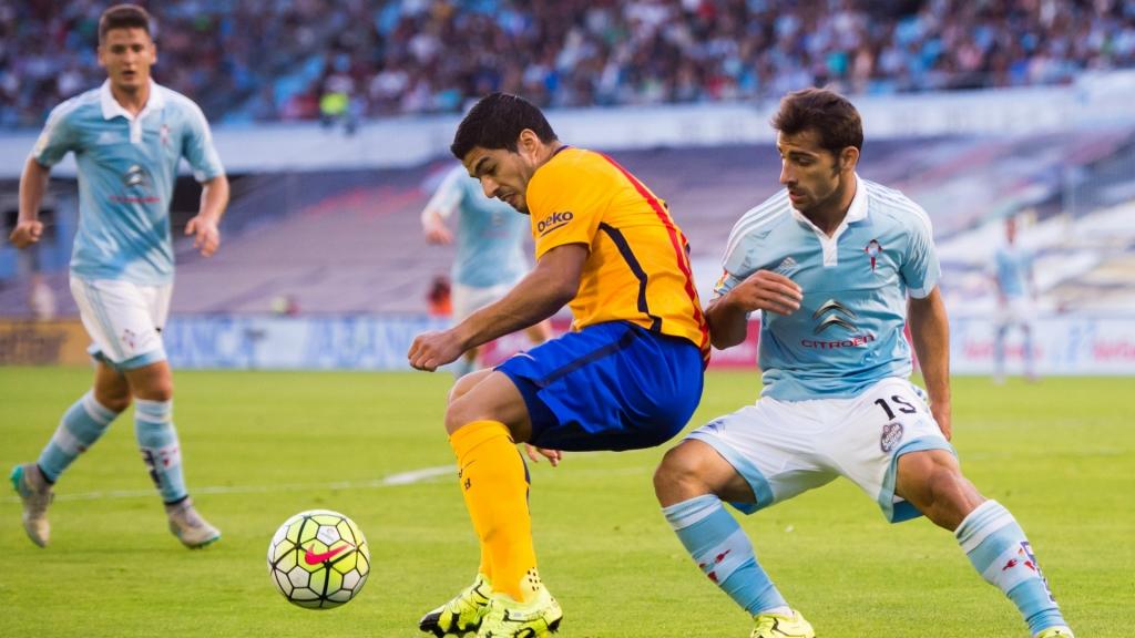 Celta Vigo stuns Barcelona behind Iago Aspas, Nolito