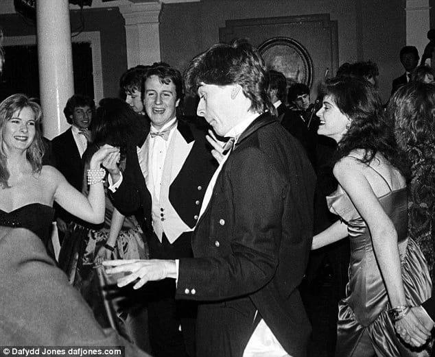 David Cameron, 1987