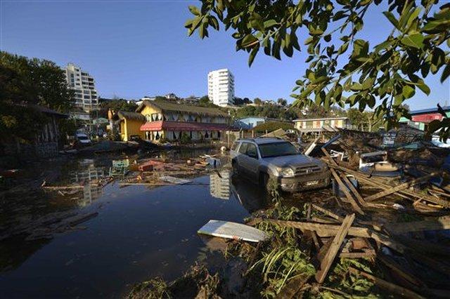 Magnitude-8.3 Earthquake Strikes Off Coast Of Chile; Tsunami Possible