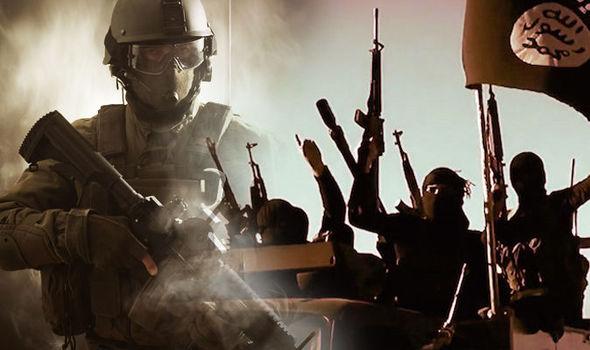 SAS officer