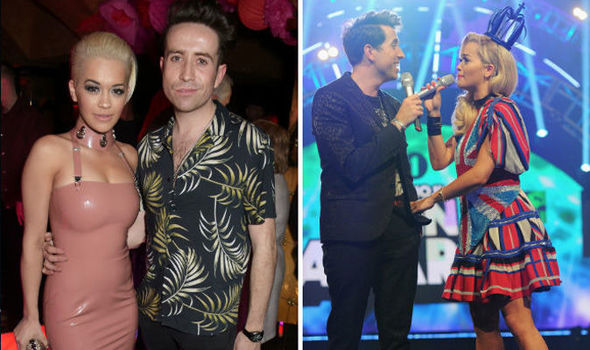 Nick Grimshaw admits he kissed Rita Ora