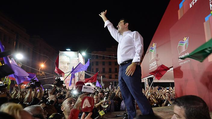 Greek voters stick with Tsipras and Syriza                                                 Show Grid