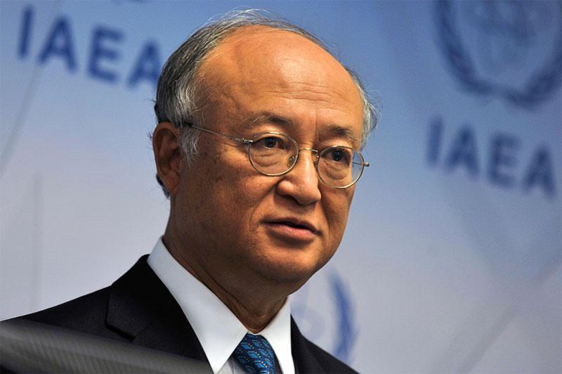 IAEA Director General Yukiya Amano.  IAEA