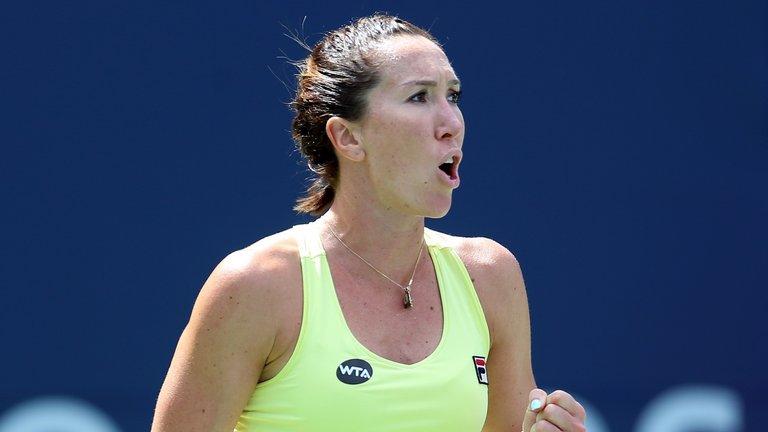 Jelena Jankovic took the Guangzhou International by beating Denisa Allertova
