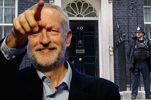 Jeremy Corbyn 10 Downing Street