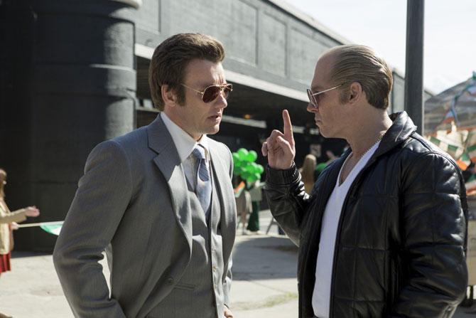 Joel Edgerton and Johnny Depp