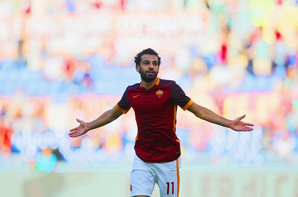 Chelsea FC Mohamed Salah scores for Roma against Sassuolo