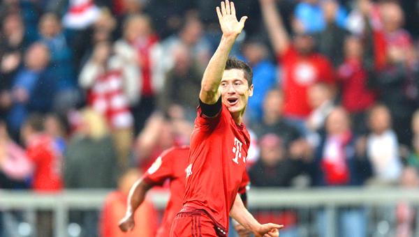 Five goals nine minutes – Lewandowski shakes up Bundesliga