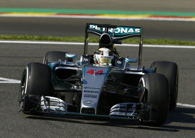 Lewis Hamilton won the 2015 Belgian Grand Prix