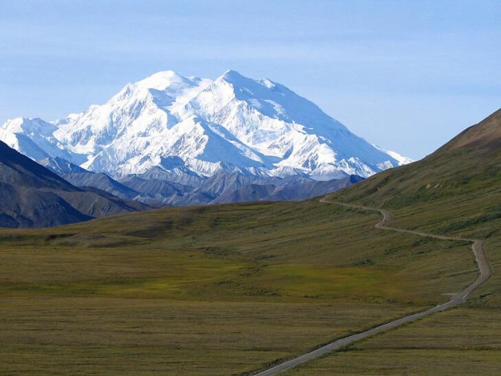 Mount Denali formerly known as Mount Mc Kinley
