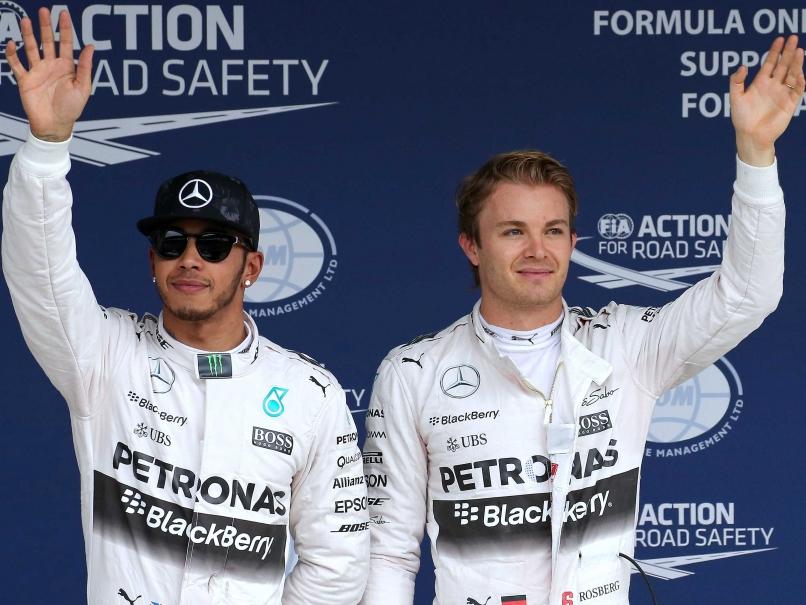 Nico Rosberg Lewis Hamilton Japan Grand Prix