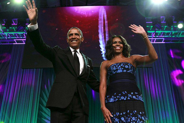 President Obama speaks at Congressional Black Caucus dinner