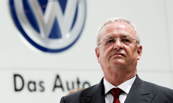 VW chief executive Martin Winterkorn