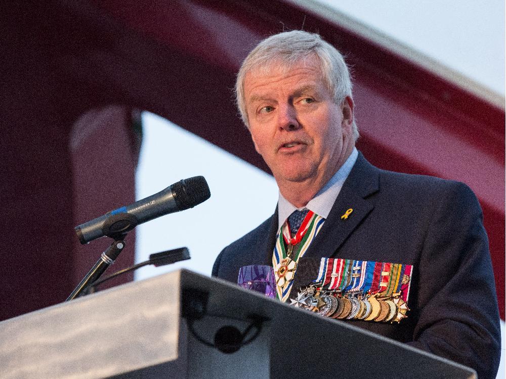 Retired Gen. Rick Hillier