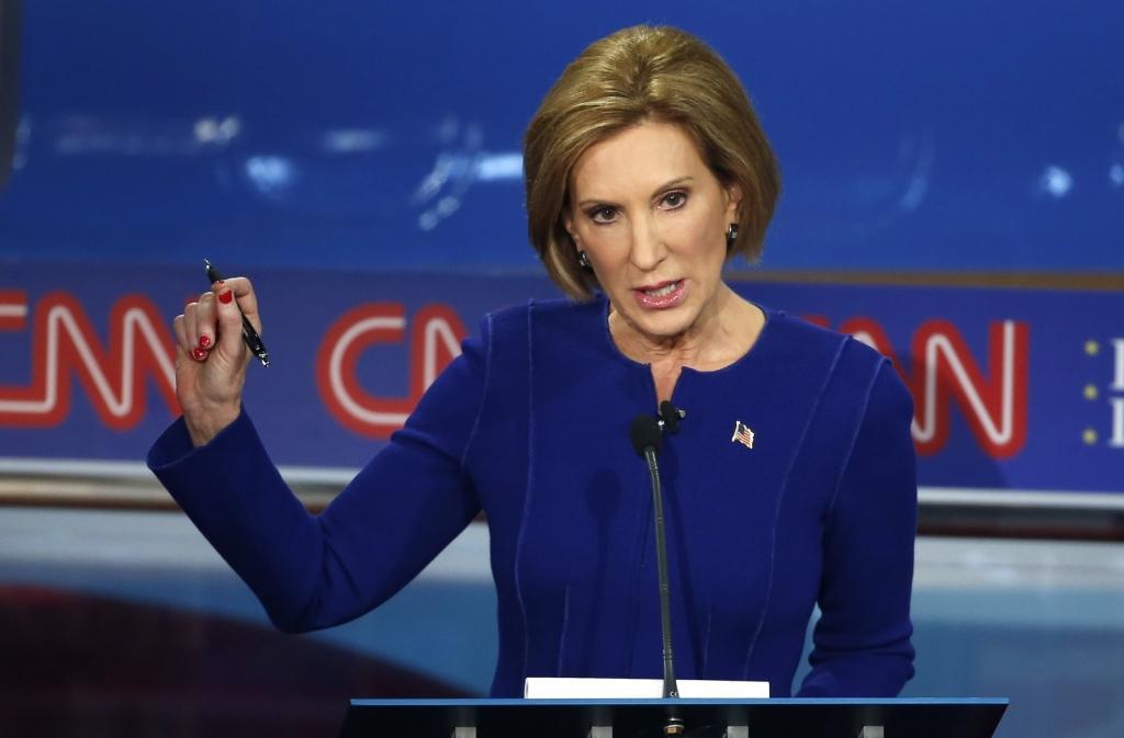 ReutersRepublican presidential candidate Carly Fiorina