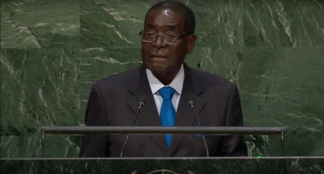 Mugabe makes anti-gay remarks at the UN