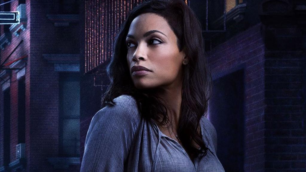 Rosario Dawson as Claire Temple in Marvel's Daredevil