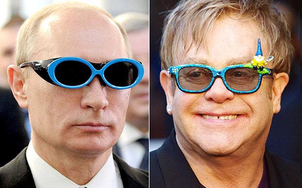 Elton John has publically thanked Vladimir Putin for'reaching out to him
