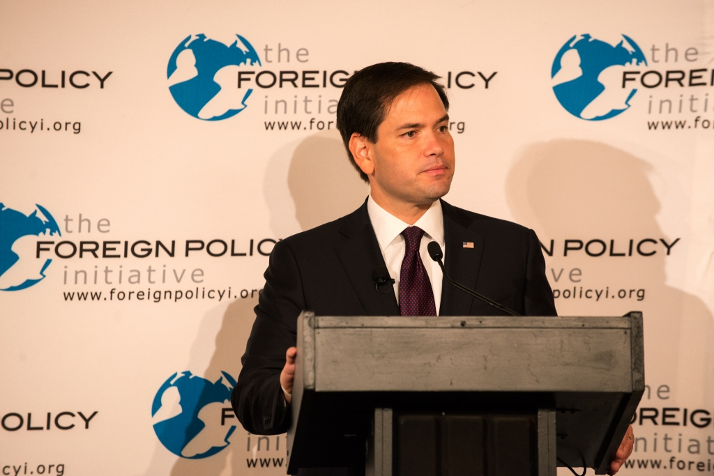 Who's Got the Foreign Policy Chops? Rubio and Walker Make Their Pitch