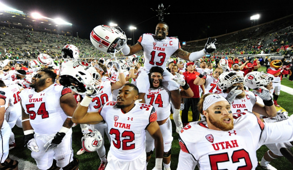College Football Rankings Week 5 Utah Rising Oregon Falling