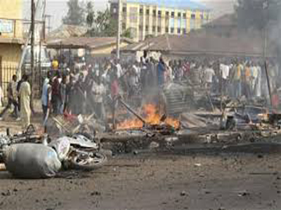 54 killed 95 injured in Maiduguri multiple explosions