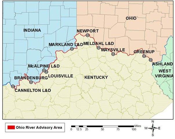 Toxic algae blooms found in Ohio River