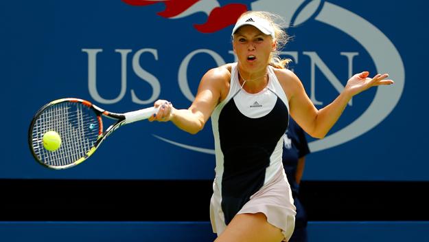 Simona Halep, Caroline Wozniacki avoid upset bug at US Open