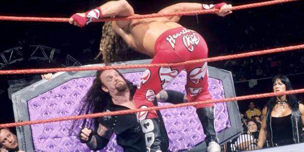 Undertaker Shawn Michaels 98