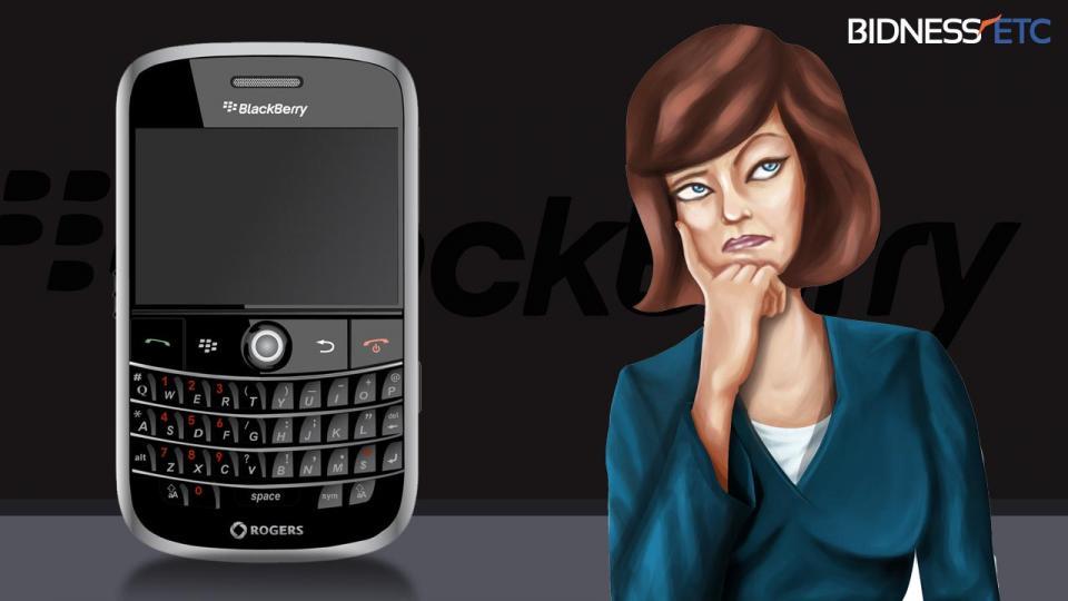 BlackBerry Ltd Canaccord Survey Suggests Soft Smartphone Demand