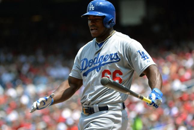 Dodgers Place Yasiel Puig On 15-Day Disabled List
