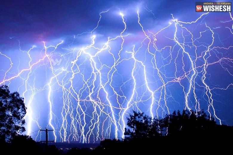 Lightning Strikes in AP killed 20 people