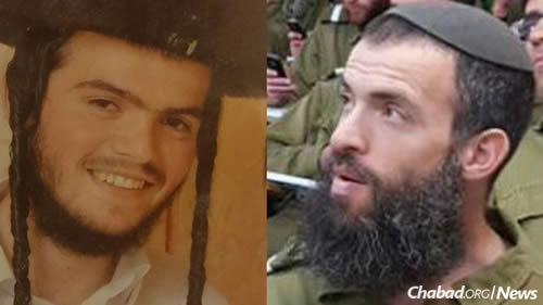 Aharon Benet 22 of Beitar Ilit left and Rabbi Nehemia Levi 41 of Jerusalem were killed in the attack
