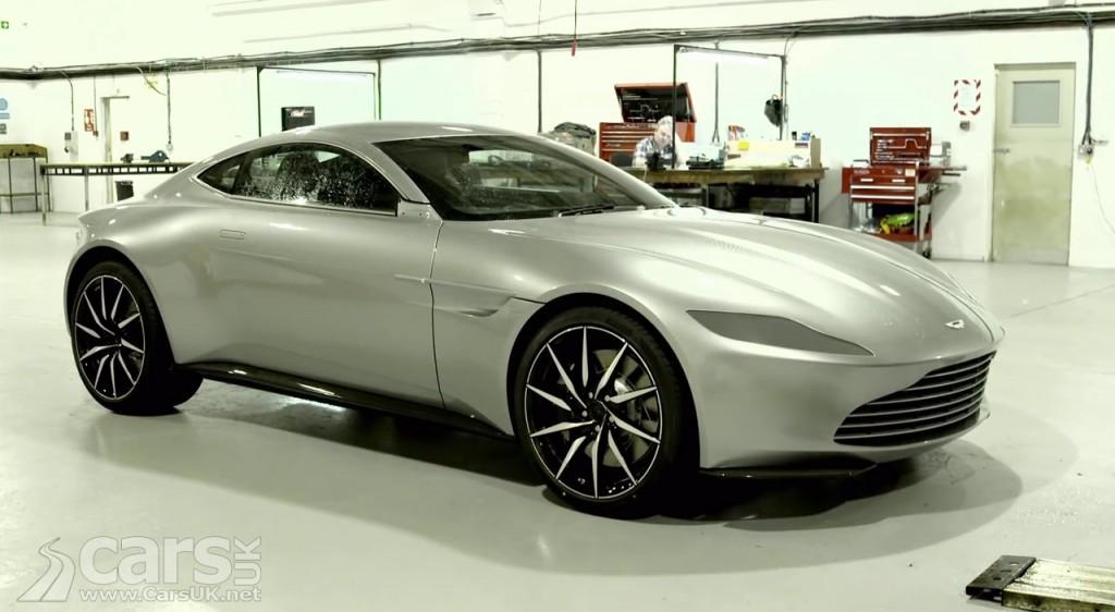 Aston Martin DB10 behind the scenes on James Bond SPECTRE