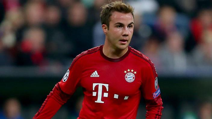 Bayern Munich attacker Mario Gotze                                                 Show Grid