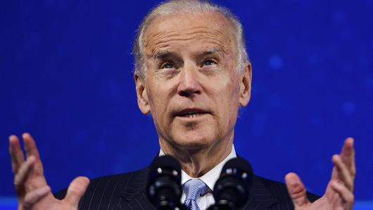 Vice President Joe Biden speaks at the 2015 Concordia Summit at Grand Hyatt New York